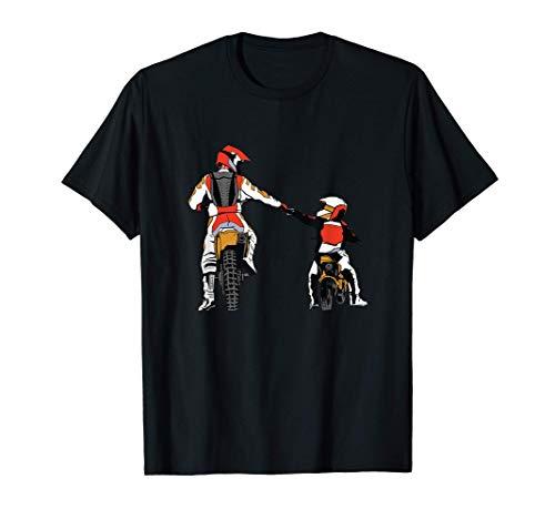 Motocross Padre & Figlio Regalo Moto Da Cross Maglietta