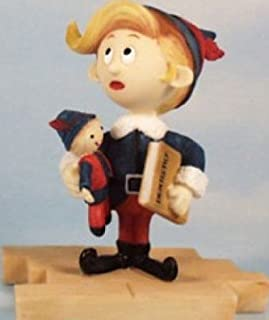 RUDOLPH THE RED NOSED REINDEER HERMEY Dentist Figurine ( New/2002 Edition)
