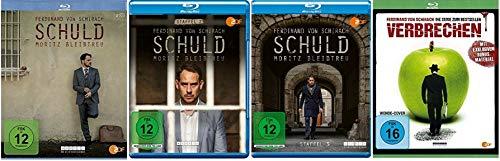 Schuld Staffel 1+2+3 / nach Ferdinand von Schirach + Verbrechen [Blu-ray Set]