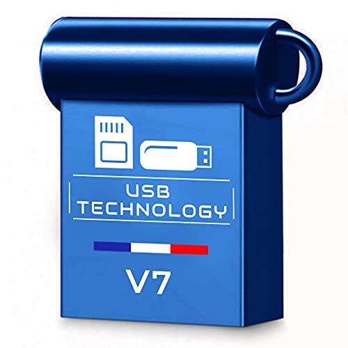Chiavetta USB da 512 GB, USB 3.1, capacità Relele, V7, in metallo, ultra veloce, ottima qualità