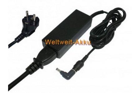 19V (Ausgangsspannung) Batterie de remplacement / AC Adaptateur pour Samsung NP-NF110, NP-NF110-A01AT, NP-NF110-A01CH, NP-NF110-A01CZ, NP-NF110-A01DX, NP-NF110-A01TR, NP-NF110-A01UK, NP-NF110-A02FR, NP-NF110-A02TR, P460-42P, P460-44G, P460-44P, P560, P560-52P, P560-54G, P560-54P, Q1EX Ultra, Q1EX-71G, Q1U Ultra, Q1U-ELXP, Q1U-XP, Q1UP-V, Q1UP-XP, Q310-34G, Q310-34P, R610-62G, R610-64G, RF510-S01, RF510-S02