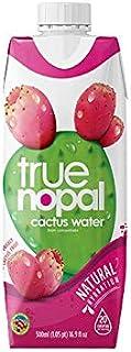 True Nopal Cactus Water, 16.90 Fl. Oz (Pack of 12)