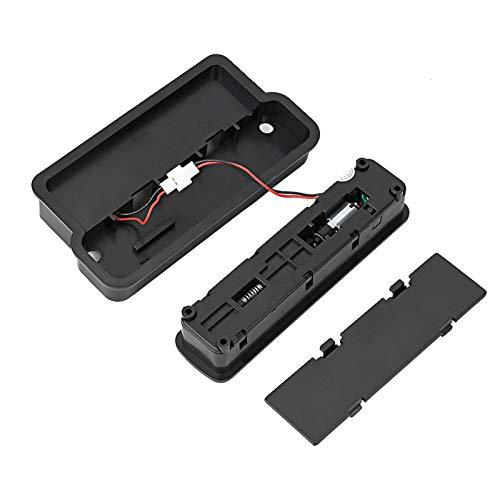 XINL Cerradura de Equipaje, Cerradura de Huella Dactilar de Carga USB, electrónica para Maleta de Caja de Almacenamiento de Mochila