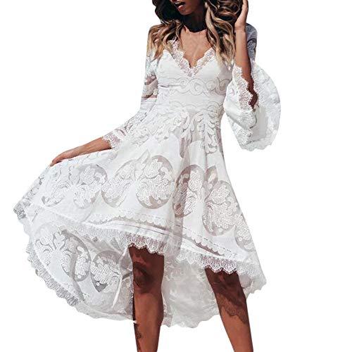 Vestido de Novia para Boda Blanco sin Mangas POLP Chaleco
