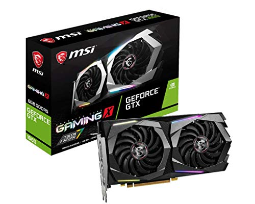 MSI Nvidia Gaming GeForce GTX 1660 Gaming X 6G GDDR5 Graphic Card