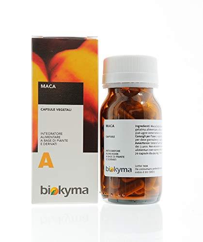 BIOKYMA MACA (Lepidium meyenii L.) capsule radice estratto secco - 70 capsule