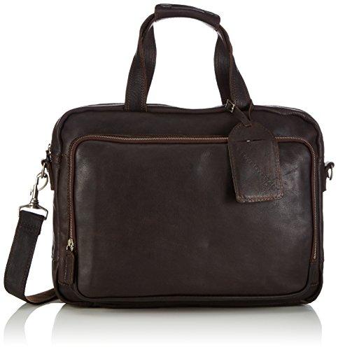 Cowboysbag Unisex-Erwachsene Bag Bude Henkeltaschen, Braun (Brown 500), 40x29x5 cm
