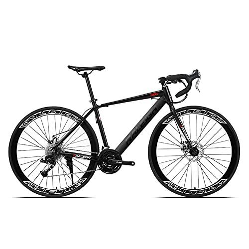 GAOXQ Rennrad 700C Rennrad Mit 24/27/30 Gangschaltung Rennrad Farbschema RL880, 3 Farben black-30 Speed