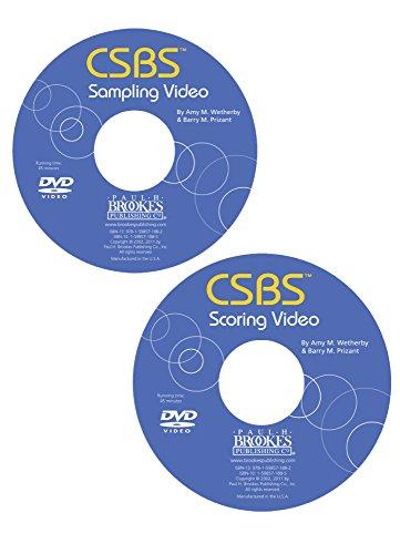 Communication and Symbolic Behavior Scales (Csbs) Sampling & Scoring DVD