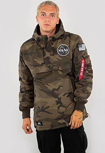ALPHA INDUSTRIES Herren Übergangsjacke NASA Anorak Camouflage XL