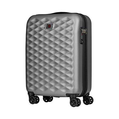 "Wenger Wenger Lumen 20"" Hardside Luggage Global Carry-On - Silver Maleta, 54 cm, 32 Liters, Plateado (Silver)"