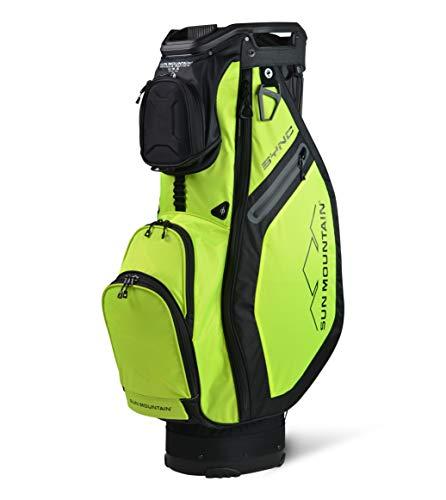 Sun Mountain SYNC CART Golf Bag Mens 2021 - Black/Atomic