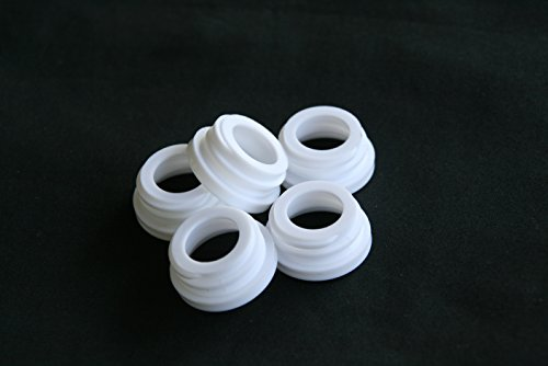 HalfPriceRetail Threaded Collar Rings for Your Mason Jar Soap Dispensers or Other DIY Craft Projects - 12ct