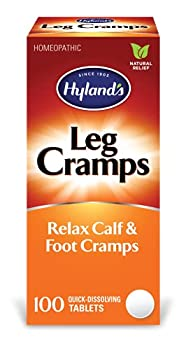 Hyland s Leg Cramp Tablets Natural Relief of Calf Leg and Foot Cramp 100 Count