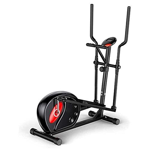 CDPC Macchina ellittica Crosstrainer Ellittica Crosstrainer, Esercizio Step Machine 8 velocità di Regolazione della Resistenza Home Gym 8 kg di Massa del volano TDD