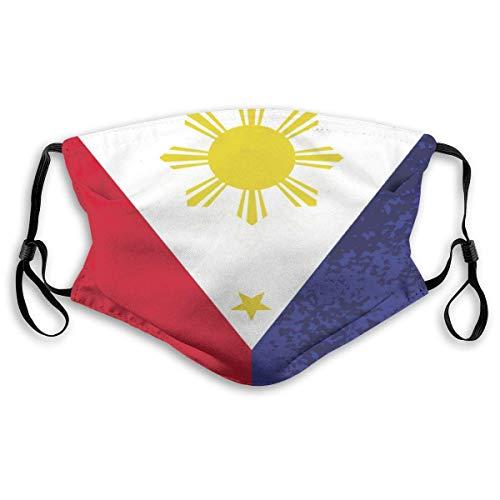 Gezichtsmaskers Filippijnse Vlag Mond Masker Luchtverontreiniging Bescherm Veiligheid Maskers Herbruikbare Muffle Masker Neus Cover