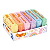 Jovi Pack de plastilina de 300 gramos, 6 unidades, multicolor pastel (70/6P), color surtido
