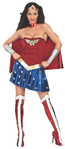 DC Comics - Disfraz de Wonder Woman para mujer, Talla M adulto (Rubie's 888439-M)