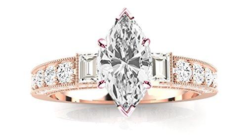 1.31 Ct Marquise Diamond - 3