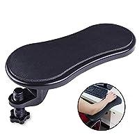 リストレスト 肘置き アームレスト パソコン 机 椅子用 肘掛け 180°左右回転可能 デスクワーク オフィス 肩こり 腱鞘炎 姿勢改善 疲労軽減 取付簡単