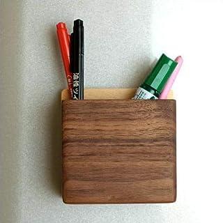 ペン立て ペンスタンド 壁掛け 木製 マグネット・ペンポケット [map4724]