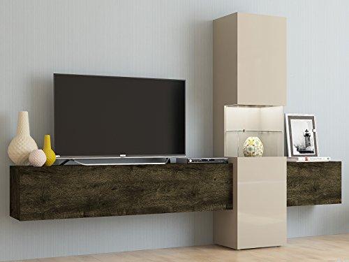 Wohnwand Fernsehschrank Wohnzimmerschrank Mediawand TV Schrank