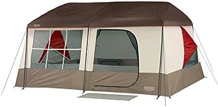 Wenzel Kodiak 9 Person Tent, Tan/Red