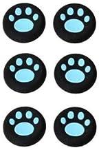 OSTENT 6 x protetores de botão analógicos coloridos compatíveis com controle de Xbox One – cor azul