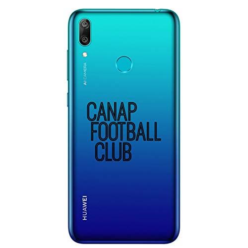 ZOKKO - Carcasa para Huawei Y7 2019 (Poliuretano termoplástico), Color Negro