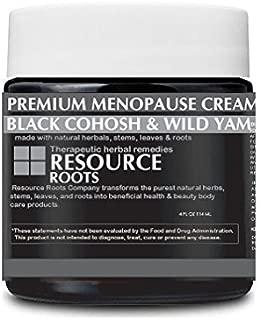 Premium Menopause Relief Cream (Black Cohosh, Wild Yam, Ginger)
