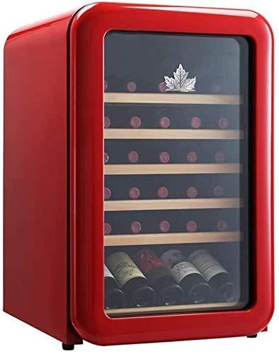 Taoke Wine Cooler Frigorifero Vino Rosso Frigo Chiller controsoffitto Wine Cooler - Libera Installazione compatta Mini Frigo Vino capacità Digitale di Controllo Porta Vetro 8bayfa