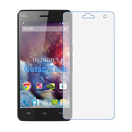 5 x Guran® Bildschirmschutzfolie für Wiko Highway 3G/ Wiko Highway 4G (5 Zoll) Smartphone Klar Anti-Kratzer Bildschirm schutz folie Screen Protector