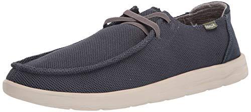 Sanuk - Sneaker Shaka Mesh da Uomo, Blu (Marina Militare), 40 2/3 EU