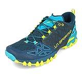 LA SPORTIVA Bushido II, Zapatillas de Trail Running Hombre, Opal/Apple Green, 43 EU