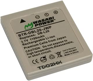 Wasabi Power Battery for Sanyo DB-L20, DB-L20AU
