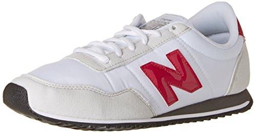 New Balance U396 Clásico - Zapatillas unisex de deporte para adultos , color blanco (white/fuchsia), talla 37 EU