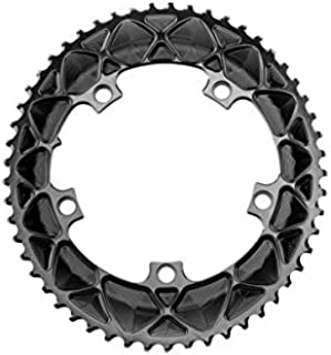 ABSOLUTE BLACK Oval 110/130 Bcd 2X Chainrings - 130Mm 5-Bolt - 53T - Narrow/Wid