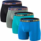 SUMABA Comfortable Underwear for Men, Mens...