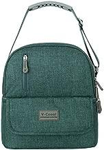 V-COOOL Breastmilk Cooler Small Bag, Waterproof Baby Milk Bag Freezer, Double Design Layer for Travel or Back to Work Nursing Mom(Jasper)