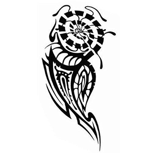 Creative Fake Body Tattoos Styles individuels Tatouage Autocollants Tatouages temporaires Unisexe