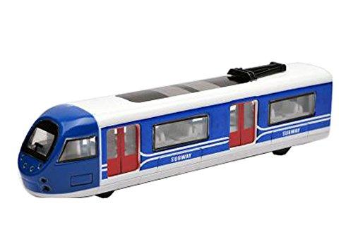 Black Temptation Tren de Metro Trenes Modelo de Juguete Locomotora de simulación Niños Juguete Azul