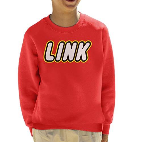 Legend of Zelda Link Lego Logo Kid's Sweatshirt