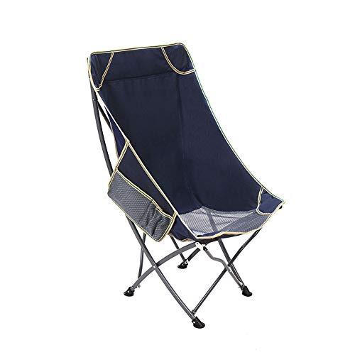 HPH Klappstuhl, ultraleichter Gartenstuhl, Sonnenstuhl, tragbarer Strandkorb, zum Skizzieren, Angeln, Regie, Outdoor, Camping, Last 100 kg