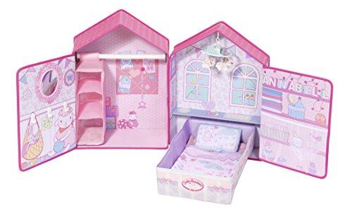 Zapf Creation 794425 Baby Annabell Spielhaus Schlafzimmer Puppenzubehör 43 cm