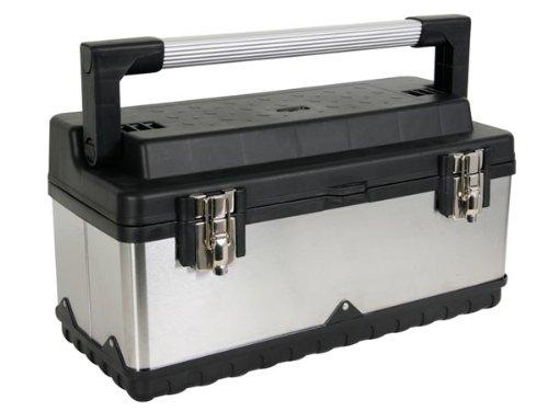 PEREL - OTBA6 Werkzeugkasten Werkzeugkiste Werkzeugkoffer Edelstahl 9,6 Liter - OTBA 144792