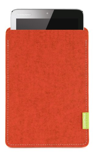WildTech Sleeve für Lenovo A7-50 Tablet (A3500) Hülle Tasche - 17 Farben (Made in Germany) - Rost
