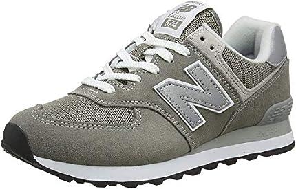 New Balance Mujer 574v2 Core, Zapatillas Gris (Grey), 38 EU