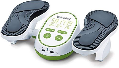 Beurer FM 250 Vital Legs EMS-Durchblutungsstimulator, EMS Gerät zur Linderung von Schmerzen in Füßen und Beinen, fördert Durchblutung und löst Verspannungen