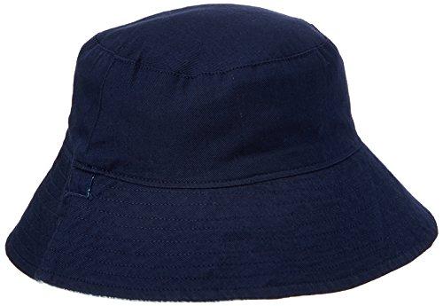Hatley Jungen Reversible Sun Hat Mütze, Blue (Shark Alley), X-Small