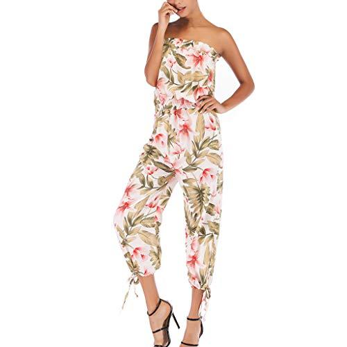 Vectry Damen - Angel-Hosen für Damen in Weiß, Größe 42